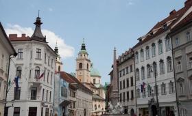 Ljubljana by foot