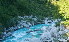 Rafting and Canyoning in the Soča River Valley – Bovec, Slovenia