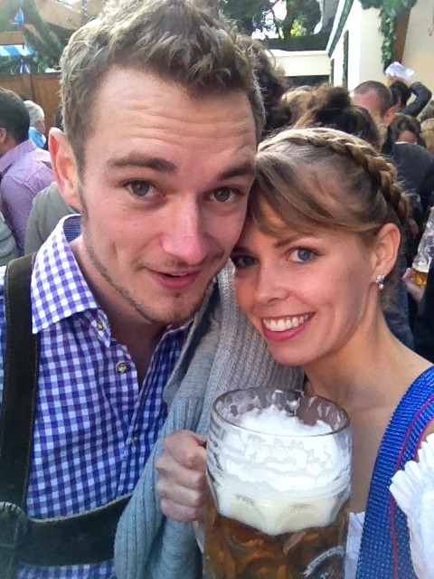 Liter of beer at Oktoberfest